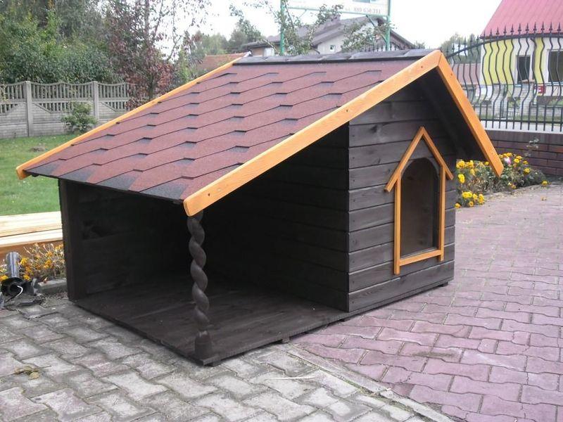 Как построить будку для своей собаки