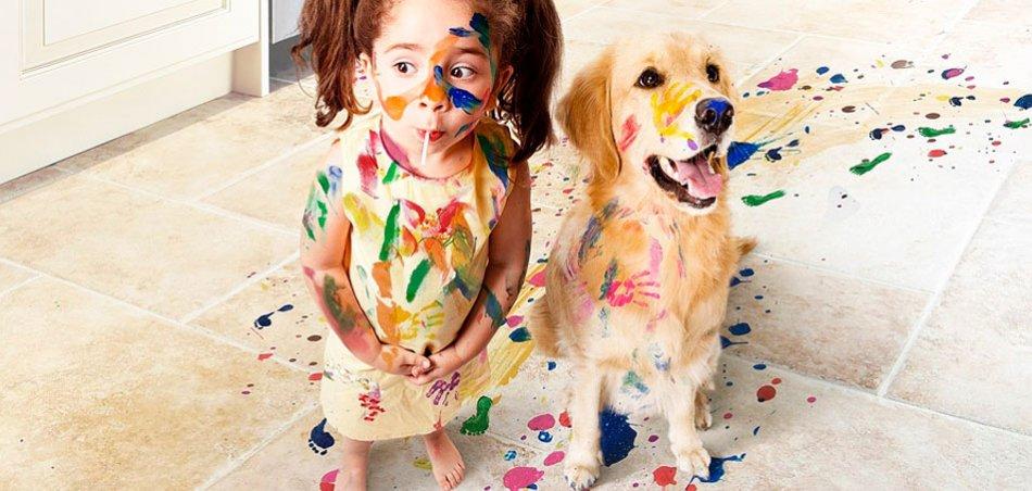 Все плюсы и минусы нахождения в доме собаки и младенца